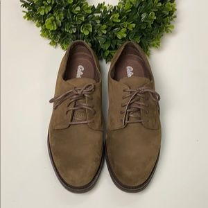 Cabela's Leather Oxford Shoes - Size 7W